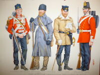 Charles Stadden, Original Military Watercolour, Lancashire Regiment (47th Foot)