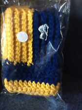 Hockey Boot Toppers Blue And Yellow