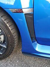 Dry Carbon Fiber Fender Vent Cover Fits Subaru WRX STI 2015 2016 2017 2018