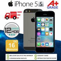 Grade A+ Apple iPhone 5s 16go 16GB Unlocked DÉBLOQUÉ Téléphones Gris Sidéral