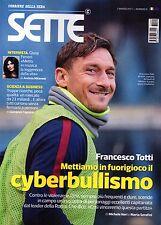 Sette 2017 9.Francesco Totti,Sebastiano Somma,Giusy Ferreri,Elio Germano,kkk