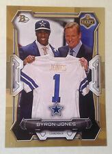 2015 Bowman NFL Draft Picks GOLD (#/49 Made) BYRON JONES Cowboys RC