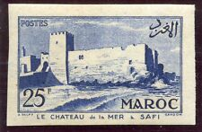 TIMBRE COLONIES FRANCAISES MAROC NEUF NON DENTELE N° 357 ** CHATEAU A SAFI