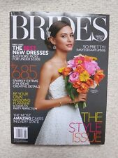 Brides Magazine August / September 2013 The Style Issue Best New Dresses