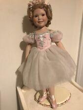 Shirley Temple-J. Belle-Danbury Mint Ballerina Doll