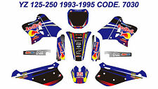 7030 Yamaha YZ 125-250 1993-1995 Autocollants Déco Graphics Stickers Decals Kits