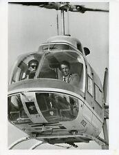 EFREM ZIMBALIST JR IN HELICOPTER PORTRAIT THE FBI ORIGINAL 1973 ABC TV PHOTO