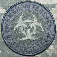 ZOMBIE HUNTER OUTBREAK RESPONSE TEAM TACTICAL COMBAT BIOHAZARD ACU VELCRO PATCH