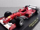 #1 Ferrari F2002 Michael Schumacher Diecast Model Acrylic Case F1 Car 1/43 IXO