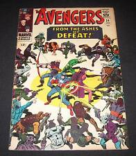 AVENGERS #24 FN- (5.5) 12¢ cover Marvel Comic | Big Battle Cover!