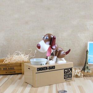 Schön Hund Spardose Elektrisches Sparschwein Gelddose Kinder Geschenke