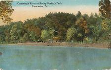 Lancaster PA * Conestoga River at Rocky Springs Park 1922