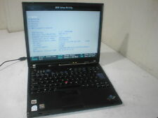 Lenovo Thinkpad T60 Core Duo 2.00Ghz ATI Laptop spares/repair. Incomplete F3