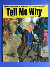 Tell Me Why - Cecil B. deMille  - No.64 November 1969 - Vintage Magazine
