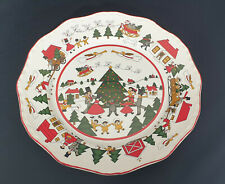 *Rare Masons Christmas Village Annual Plate (1st in Series) Made in England*