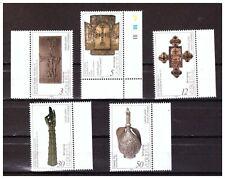 ARMENIA, SCOTT#459-463, MNH, RELIGIOUS RELICS, 1994.