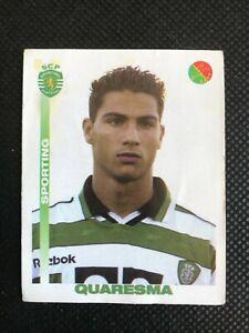 Ricardo Quaresma - ROOKIE - Sporting Lisbon - 2001/2002 - PANINI Sticker #342