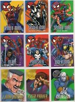 1996 Fleer Skybox Marvel Vision Embossed X-Men You Pick the Card Finish Your Set