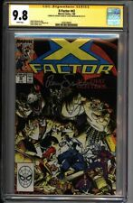 * X-FACTOR #42 CGC 9.8 Signed Art Adams Louise Simonson (1600188001) *