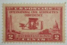 TRAVELSTAMPS: 1928 US Stamps Scott #s 649, mnh, og, mint, Aeronautics 2 cents