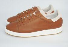 Brunello Cucinelli Men's Icaro Calfskin Leather Low-Top Sneaker,Brown, MSRP $895
