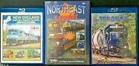 New England/Maine  DVD/BluRay Videos/Lot of 3/CSX, Pan Am, Norfolk Southern