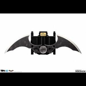-=] SIDESHOW - DC Comics: Batman Arkham Asylum - Metal Batarang Prop Replica [=-
