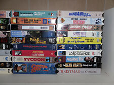 Large lot of VHS Movies *YOU PICK 1* Childrens, Family, Westerns, Comedy Etc.