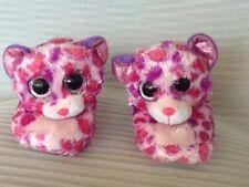 Ty Girls Pink/Purple Kitten Bedroom Shoes Size Small 10-11
