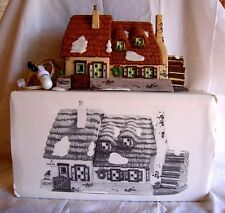 Dept.56-The Christmas Carol Cottage-Dickens Village Series-1996-With Box & Light