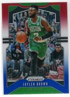 2019-20 Panini Prizm Basketball Jaylen Brown SP RWB Prizm #40 Boston Celtics