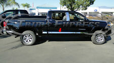 2016-2017 Toyota Tacoma Double Cab Chrome Body Side Molding Trim Stainless Steel