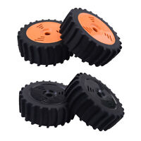 2Pcs 17mm Hub Wheel Rim & Rubber Tire Tyres for VRX, HPI 1:8 RC Buggy Truggy