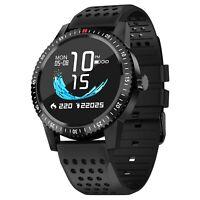 Smartwatch Originale Noziroh Watch GPS IP67 Per iPhone Samsung iOS Android Nero