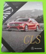 2016 Mercedes Benz CLS SPORT SEDAN DLX BROCHURE 28-pgs CLS400 & 500 + AMG CLS63S