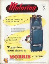 Motoring 7/58 Nuffield Mag Yachting for small car owner Body Maintenance M1 +