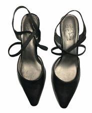 Life Stride Black Soft System Kalee Womens Sandals Size 10 W Slingback Black