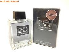 Seduction In Black by Antonio Banderas 6.7 / 6.8 oz 200ml Spray For Men