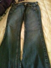 True Religion Women's Jeans Sammy Size 27 Boot Cut Authentic Worn Once