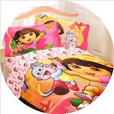TWIN - Nickelodeon - Dora the Explorer Jungle Sun Pink Microfiber COMFORTER