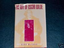 Wit of Oscar Wilde by Sean  HB w//DJ