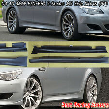 M Style Side Skirts (PP) Fits 04-10 BMW E60 E61 4/5dr 5-Series