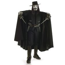 V FOR VENDETTA HERITAGE COLLECTION ADULT MENS COSTUME Movie Scary Theme Party