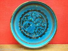 Joli vide-poches bleu décor fleuri
