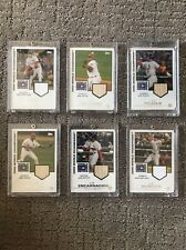 2007 Topps World Champion Relic 2006 World Series Game Used Lot Of 6 Pujols