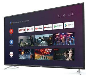 "Sharp 40"" Inch 4K Smart Android LED TV - Netflix - Bluetooth - 4T-C40BL2EF2AB"