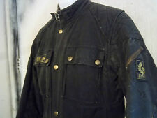 VINTAGE 80'S BELSTAFF TOURMASTER TROPHY WAXED MOTORCYCLE JACKET SIZE 38