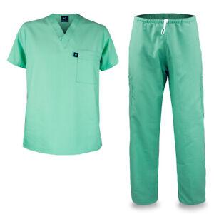 KM01L - Kolossus Men's Poly Cotton Medical Scrubs Set