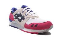 Men's Asics Gel-Lyte III H301N 0190 White/Black Shoes