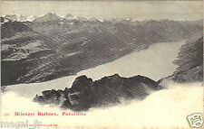 Suisse - cpa - Brienzer Rothorn - Panorama